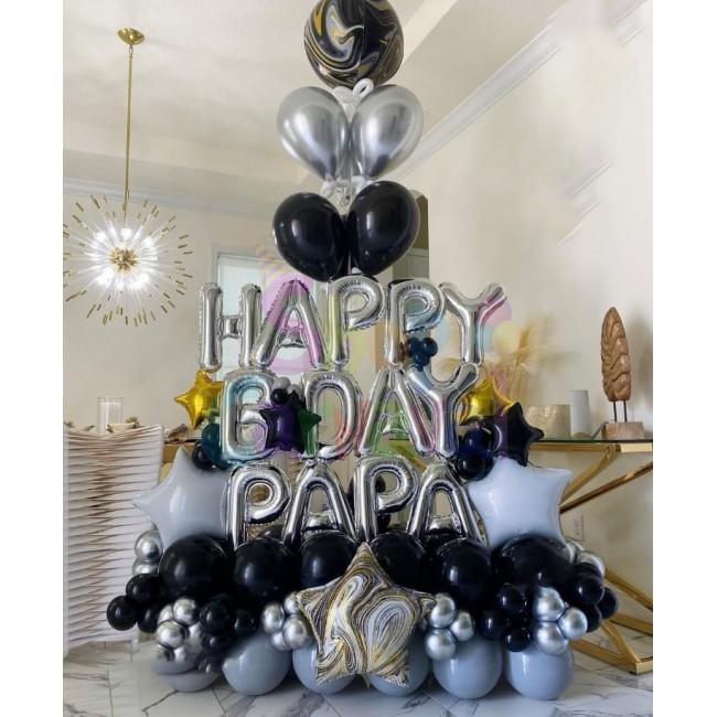 Decor Baloane Petrecere Happy Birthday