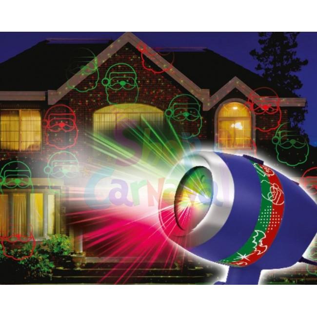 Star Shower Laser Magic de Craciun