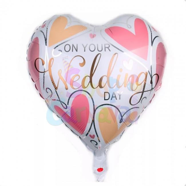 Balon Folie Wedding
