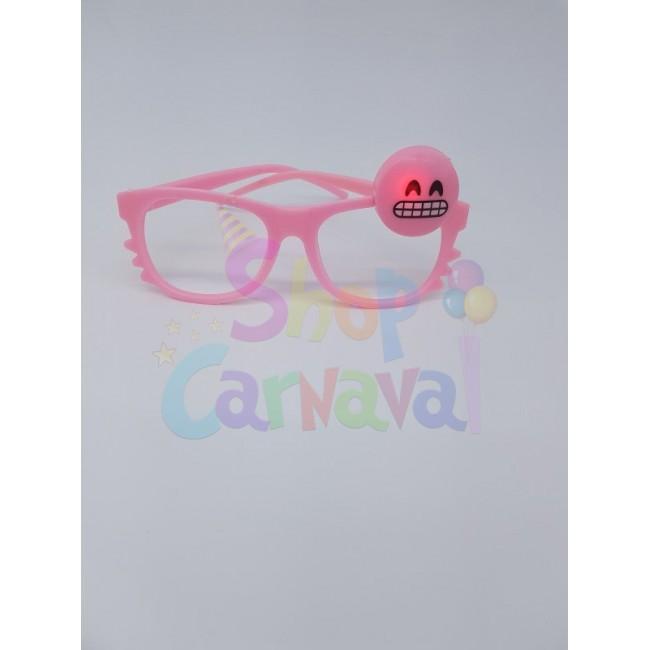 Set 12pcs Rame ochelari emoji cu lumini