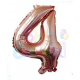 """BALON CIFRA GOLD (0-9 ANI) 40""""-105 CM"""