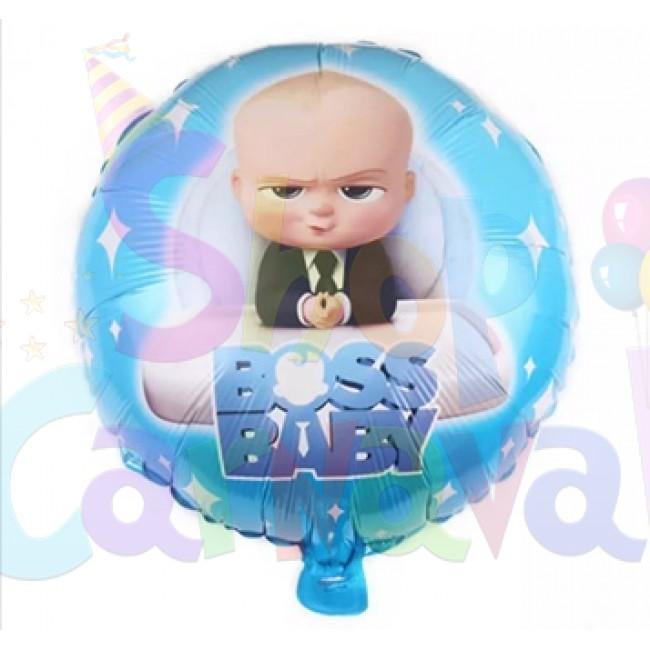 Balon folie rotund -BABY BOSS-