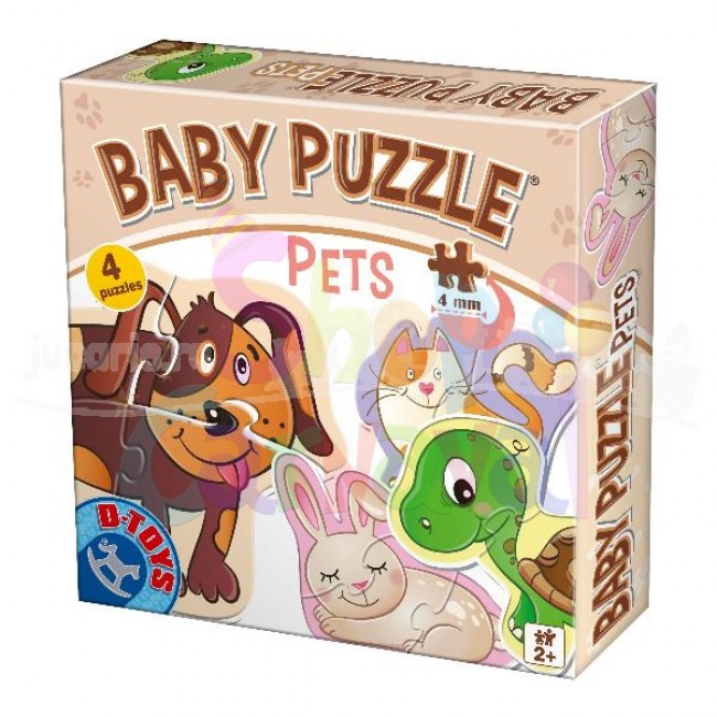 Baby Puzzle - Pets